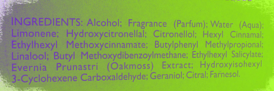 an analysis of the ingredients of perfume and its new commercial applications Analytical, material & chemical testing services deformulation, unknown id, e&l studies, stability, failure analysis, commercial product r&d, ctm, pharma r&d.