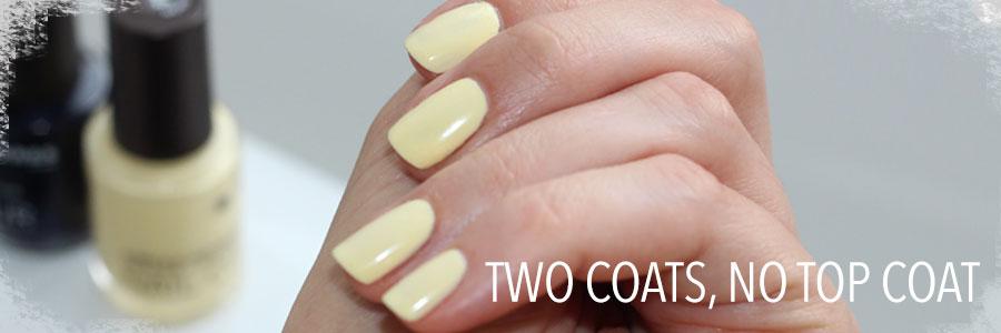 Best Pastel Yellow Nail Polish