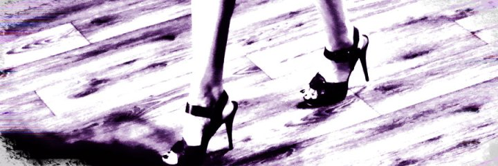 PostADay Wordpress Photo Challenge Woman in Heels on Wooden Catwalk