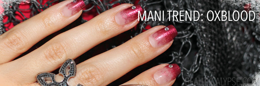 08-nail-art-trend-oxblood-ombre-and-rhinestones