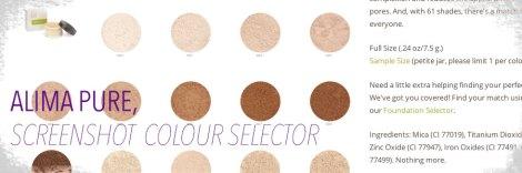 alimapure-colourselection