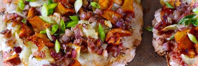 chanterelles-pizza