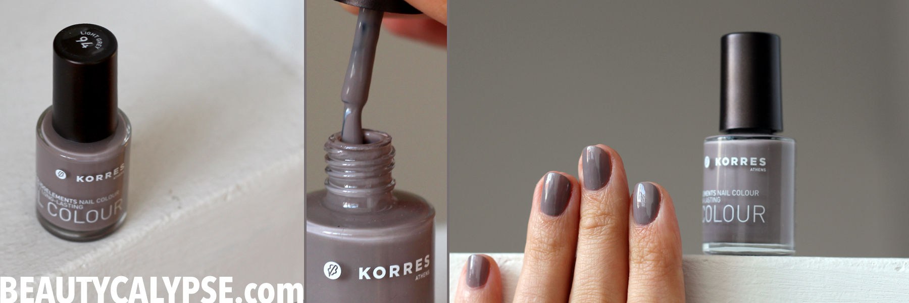 A closer look: an 11-big-free nail polish by Korres | Range Review ...