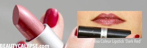 alva-coleur-lipstick-dark-red-swatch-review-and-rant