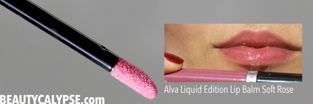 alva-liquid-edition-lipbalm-softrose-swatch