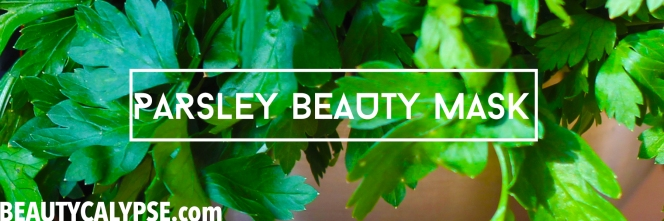 parsley-DIY-mask