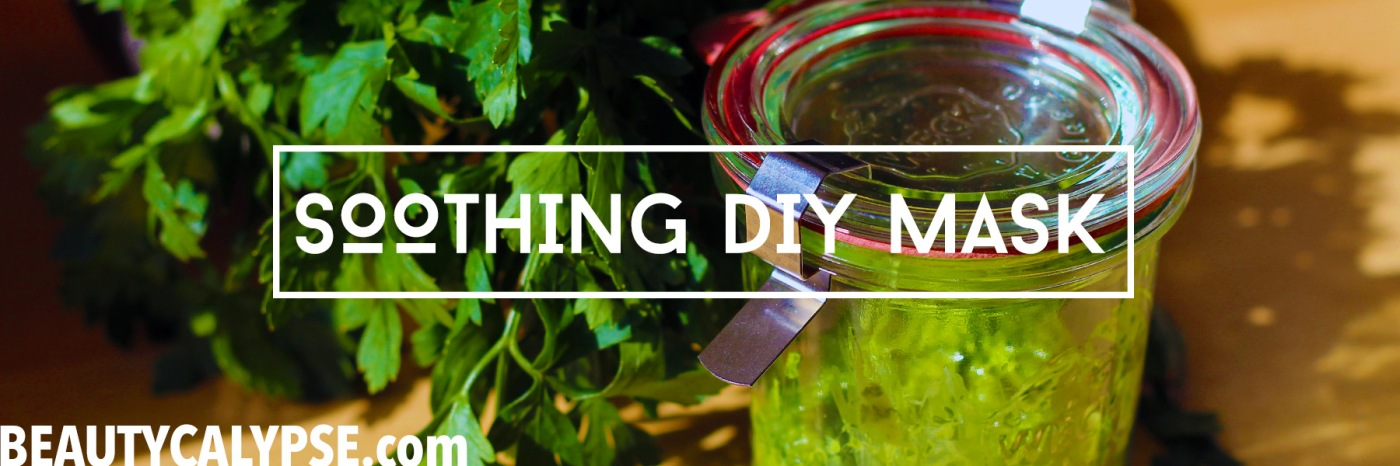 soothing-parsley-DIY-mask-to-even-out-skin-ton