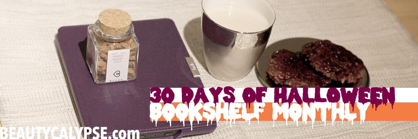 30DaysOfHalloween-BookshelfMonthlyHorrorBooks