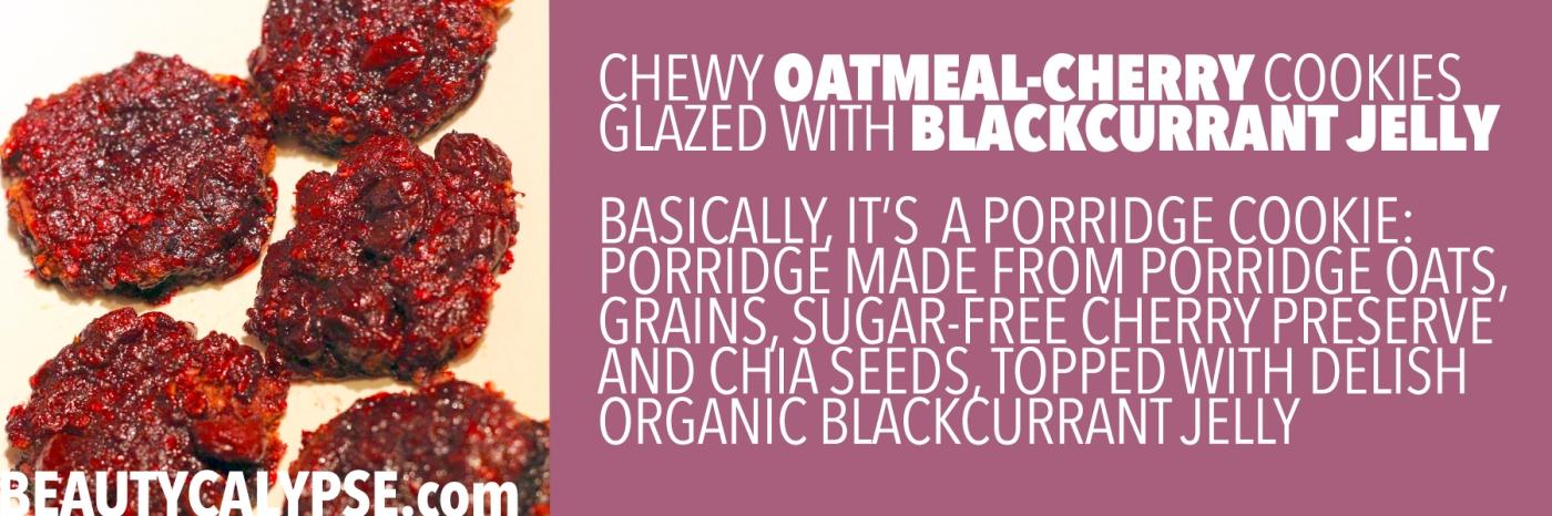 chewy-oatmeal-cookies-vegan-berry-glazed-method