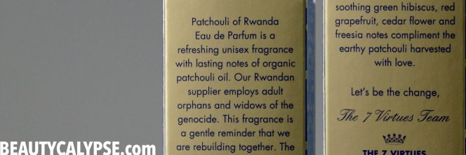 PatchouliOfRwanda-The7Virtues-MessageOfPeace