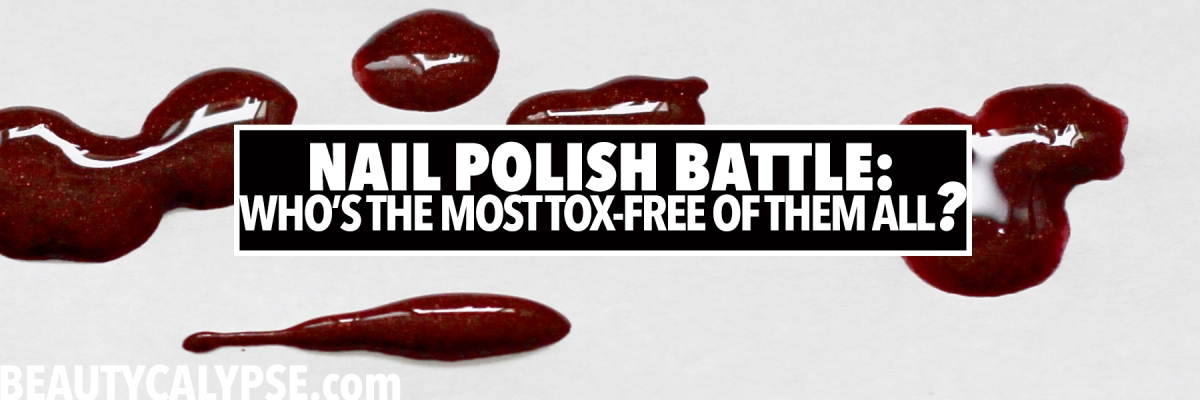 Tox-Free to The MAX: Product Battle #5: Zao | Tromborg | Korres Nail Polishes