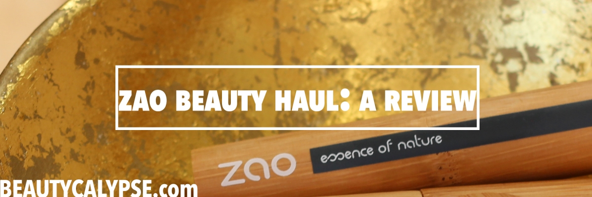 RSPO-Based Eye Make-Up by ZAO, Range Review #11