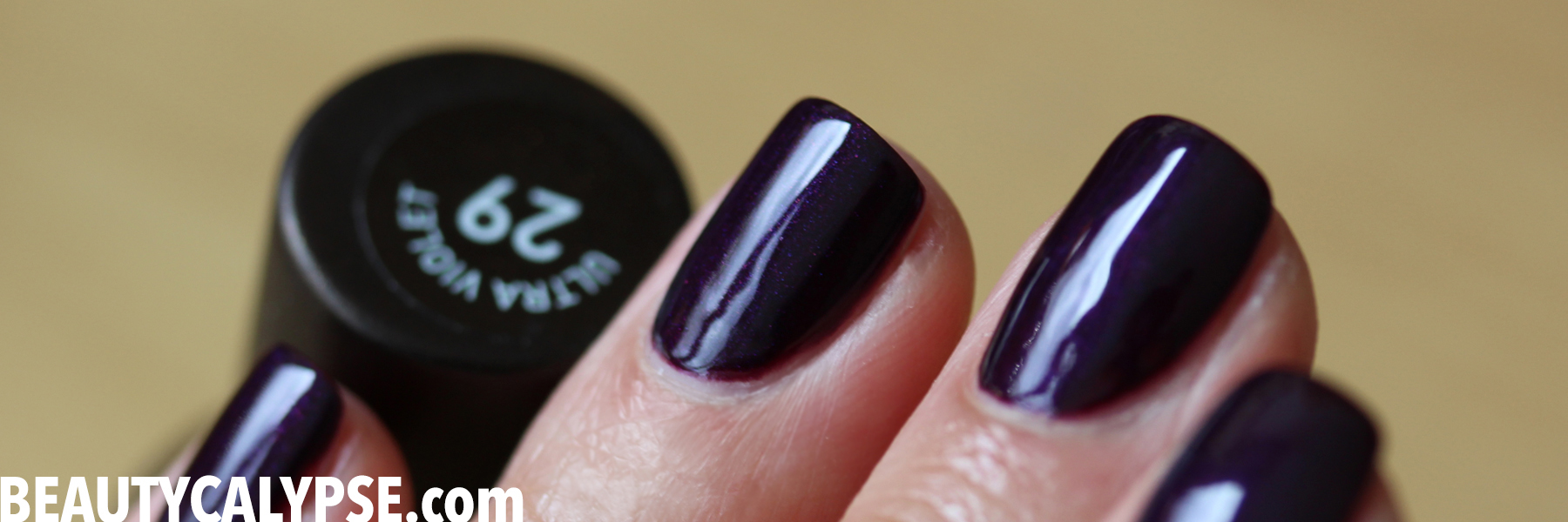 Black Orchid Manicure Seven Days And Counting Beautycalypse The Revelation Of Beauty