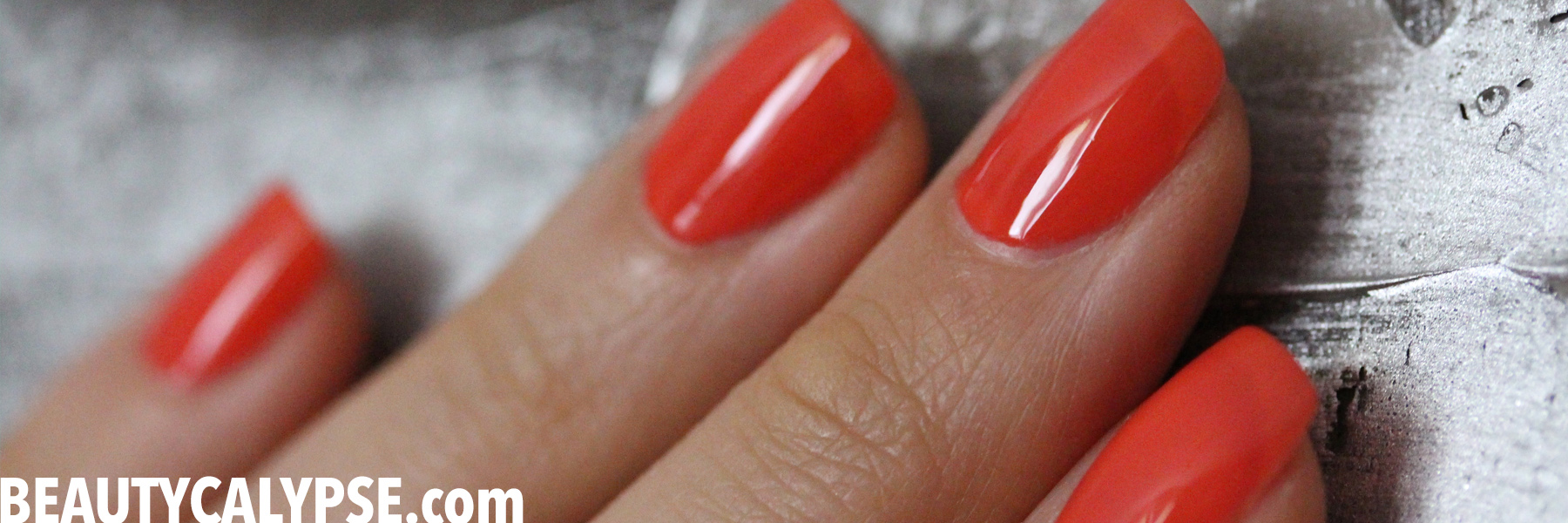 Coral Hibiscus Manicure – Sound Five Days (11-Free Lacquer) – LIVING ...
