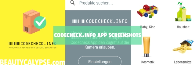 Codecheck-App-Screenshots