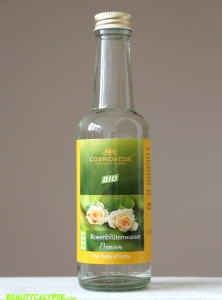 Cosmoveda organic rose water (food-grade)