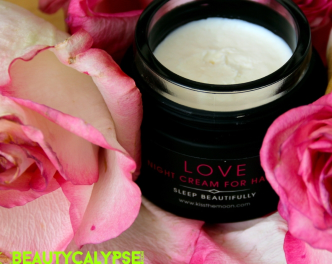 Sleep Beautifully Night Cream Treatment LOVE, Kiss the Moon