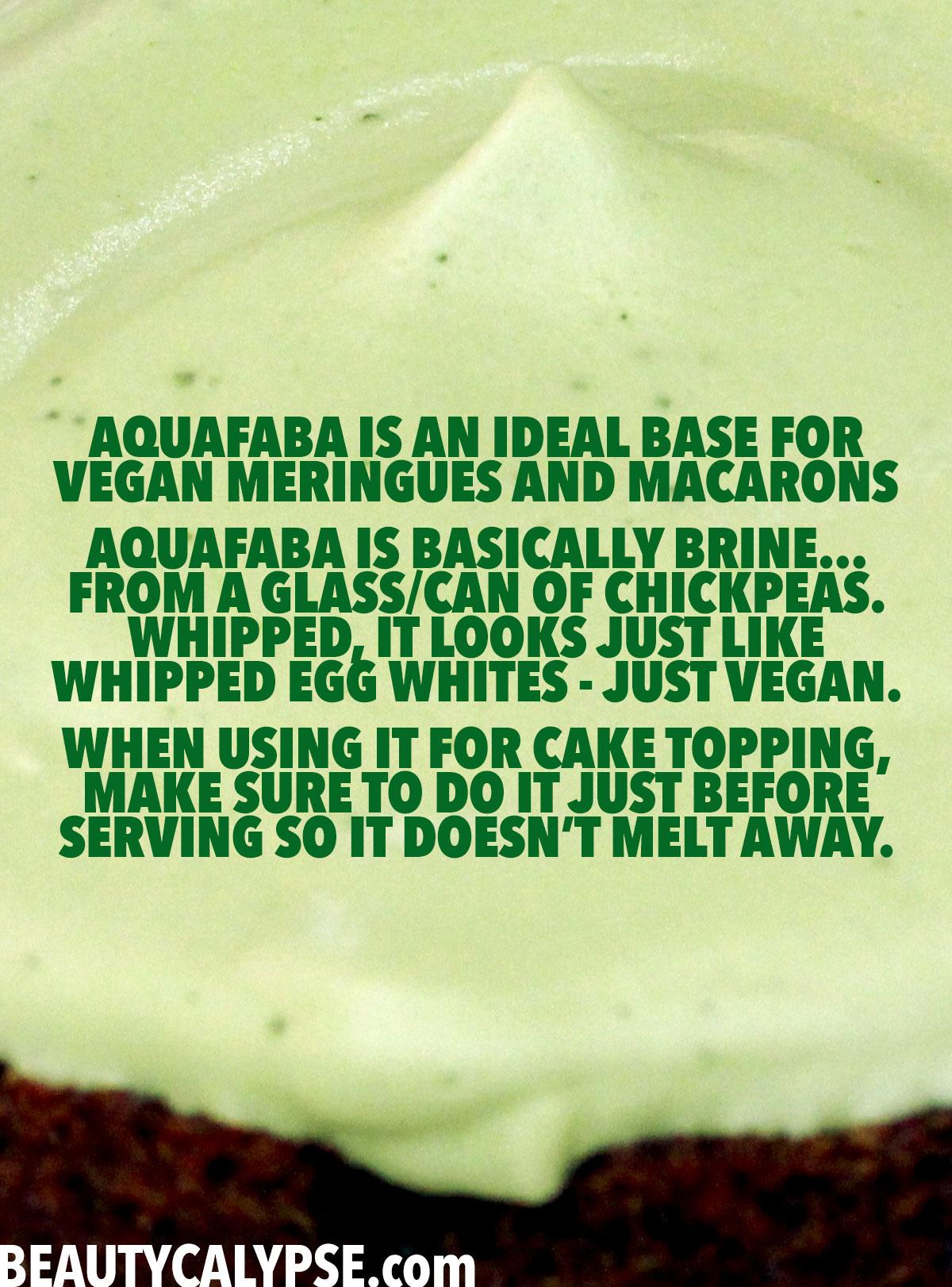 aquafaba-matcha-cake-topping