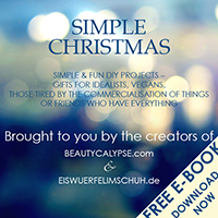 "Simple Christmas: fun projects with gift ideas for vegans, idealists, and friends who ""have everything""!"