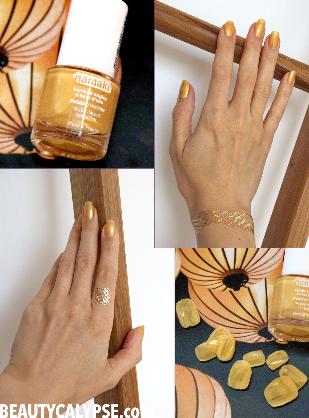 Water-Based & Peelable Nail Polish: Suncoat vs. Namaki * Product ...