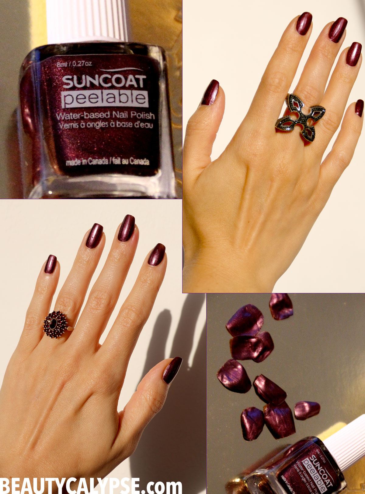 Water-Based & Peelable Nail Polish: Suncoat vs. Namaki * Product ...