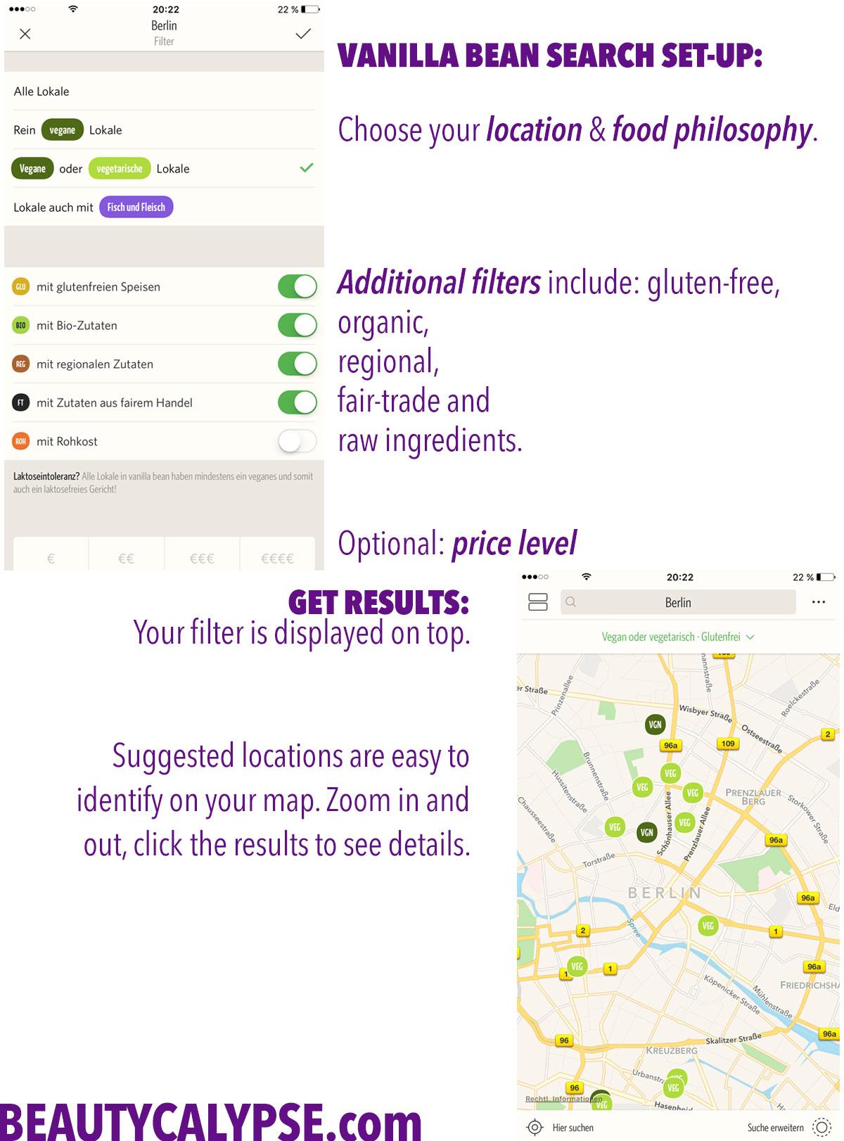 Vanilla-Bean-App-Review-Setup