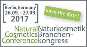 Naturkosmetik Branchenkongress Natural Cosmetics Conference 2017 Berlin