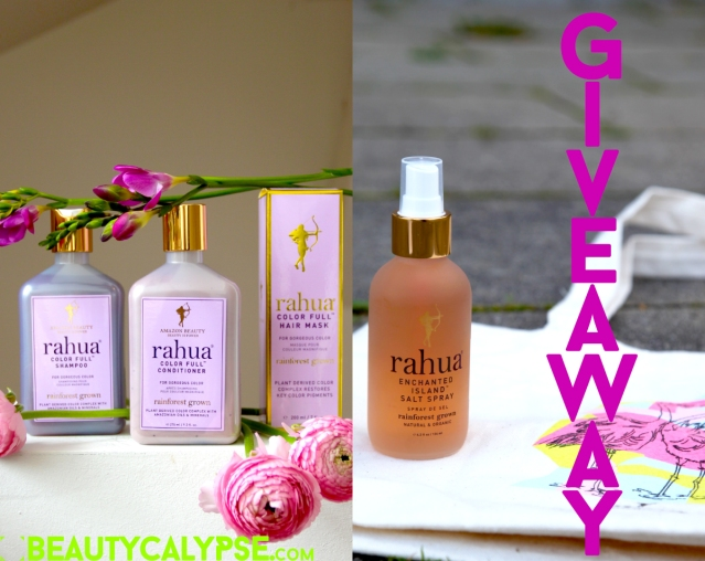 Summer Hair Forever [Subscribers-Only Giveaway] Rahua Color Full Trio and Enchanted Island Salt Spray