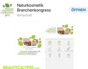 Natural Cosmetics Conference, the app