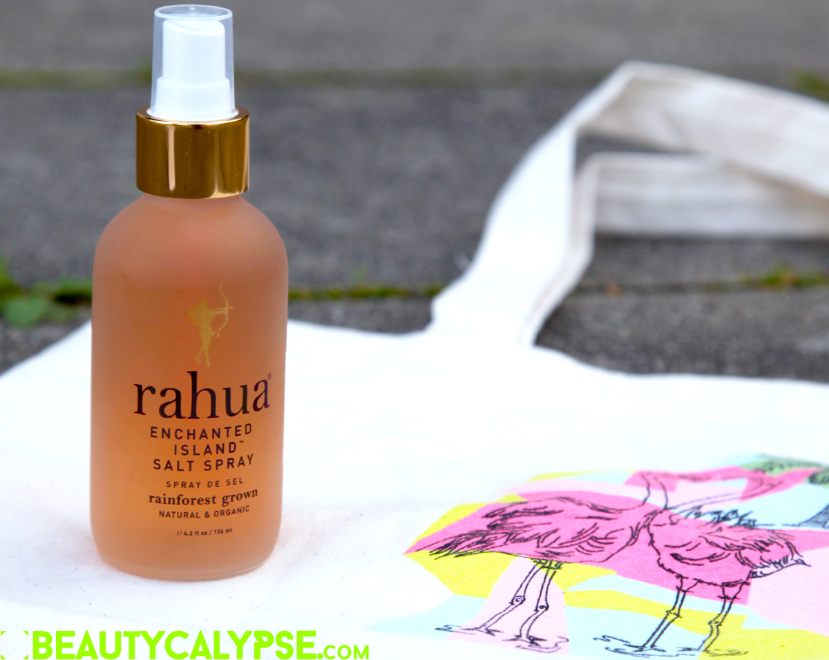 Rahua Enchanted Island Salt Spray and Flamingo Tote