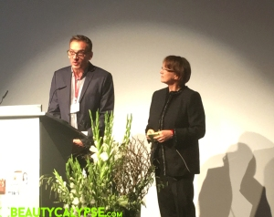 Programme chair and event organiser Wolf Lütge, programme chairwoman and conference founder Elfriede Dambacher
