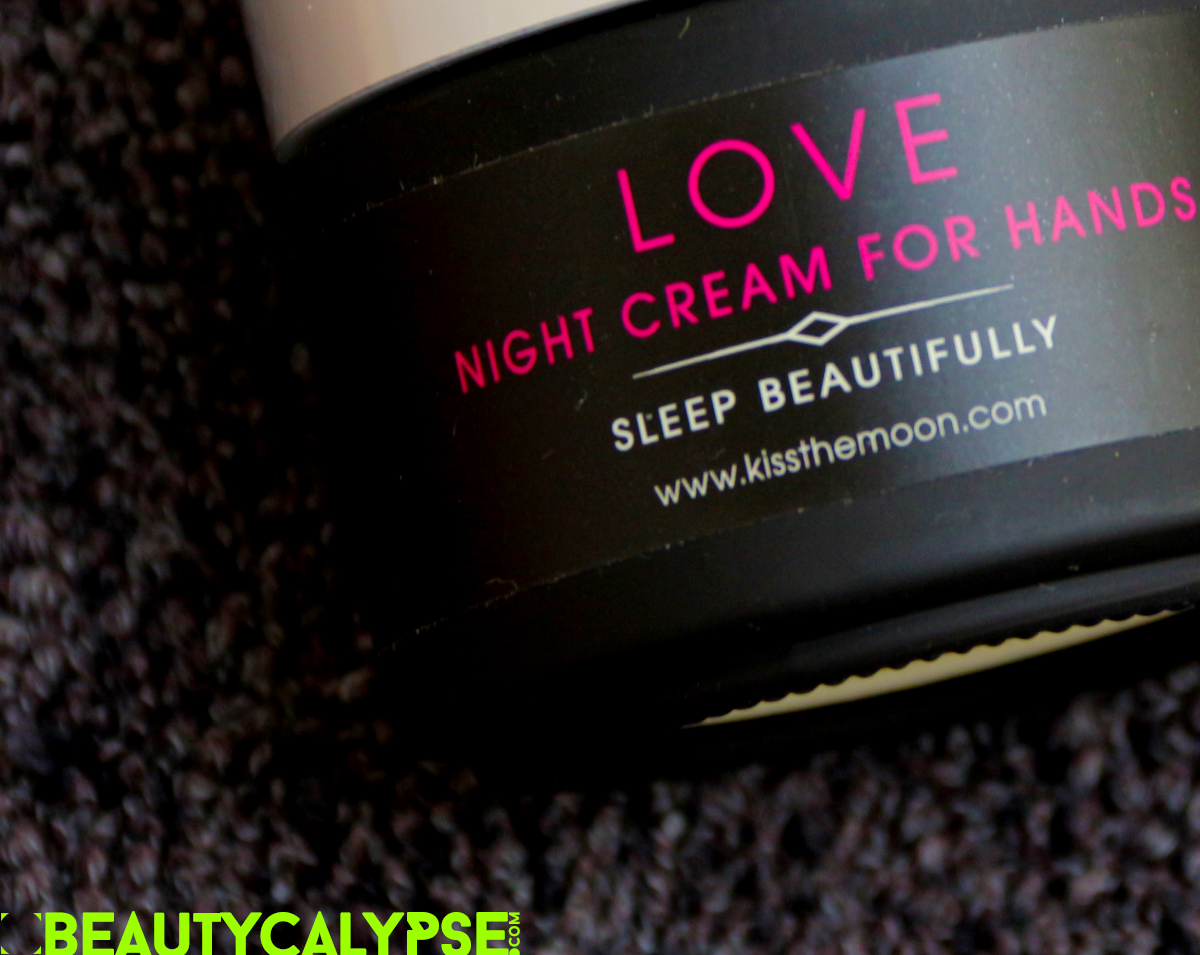 LOVE NIGHT CREAM FOR HANDS, KISS THE MOON