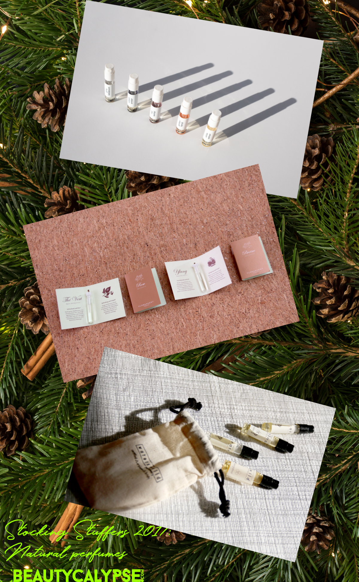 Fantastic Stocking Filler Ideas: Abel Discovery Set, Florascent, Waters + Wild natural perfumes for fragrance lovers