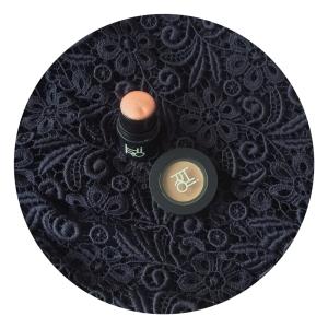 Hiro organic multistick in 'Eve by Day', Hiro organic brow pomade in 'Wow Brow medium'