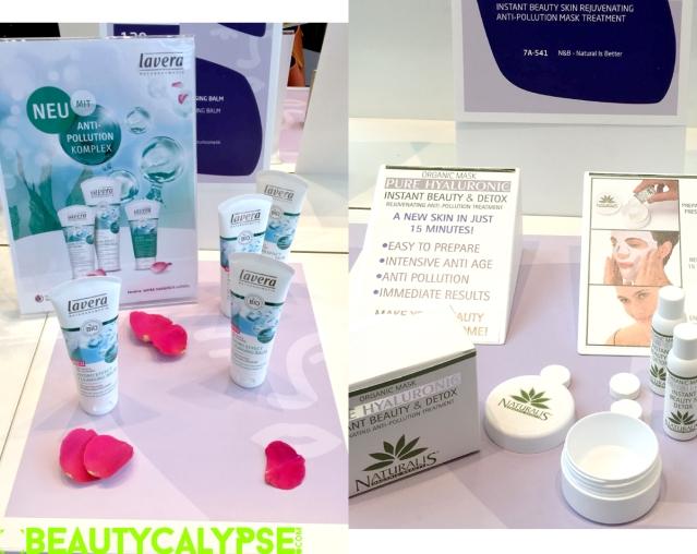 Lavera Anti-Pollution Complex; Naturalis Skin Rejuventaing Anti-Pollution Mask Treatment