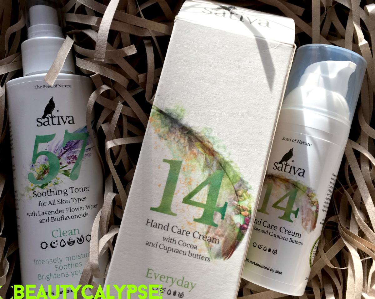 Sativa natural and organic skincare from Belarus