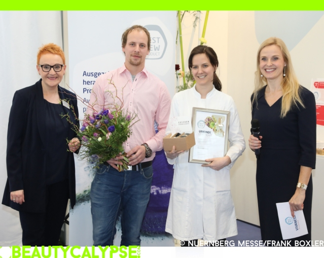 Coscoon cosmetics win Vivaness 2018 Best New Product Award
