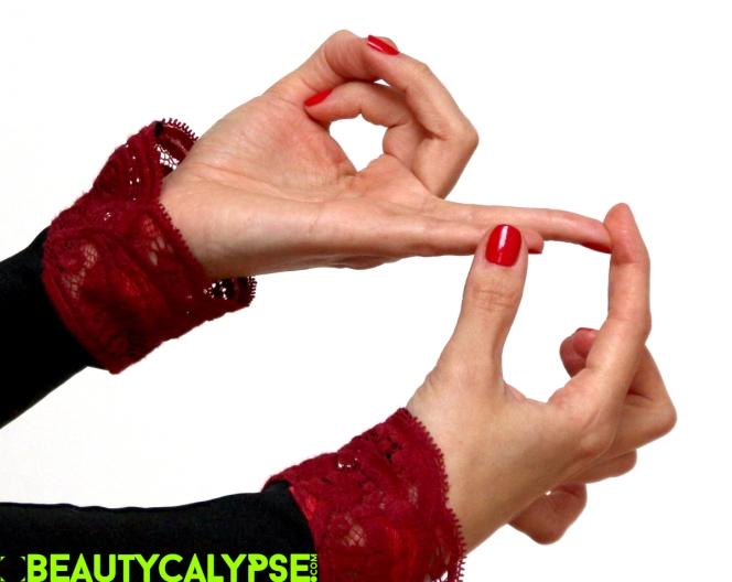 Bee mudra – helpful tip
