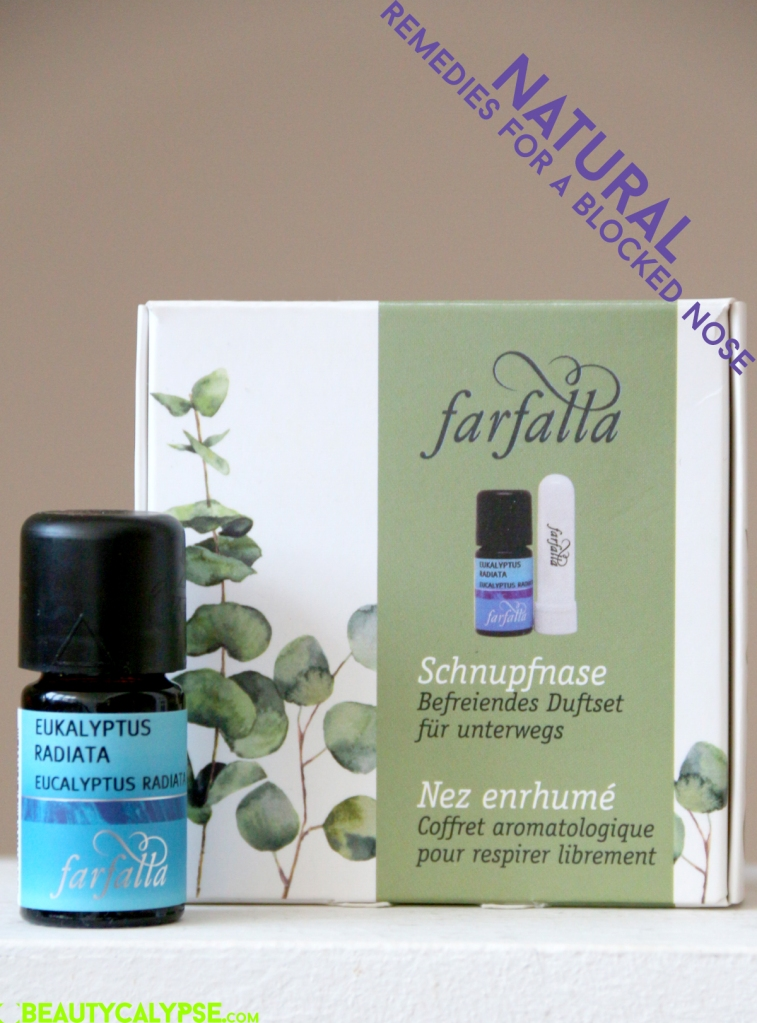 Farfalla set for blocked noses: aroma stick and Eucalyptus EO
