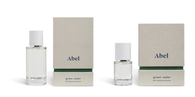 Abel, vita odor collection: new in 2018 Green Cedar (15 ml, 50 ml)
