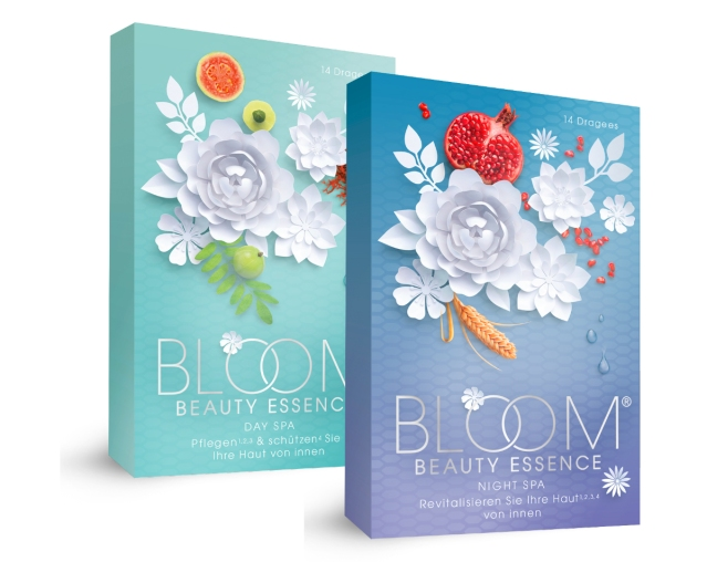 BLOOM BEAUTY ESSENCE New Supplement Brand Made in Germany