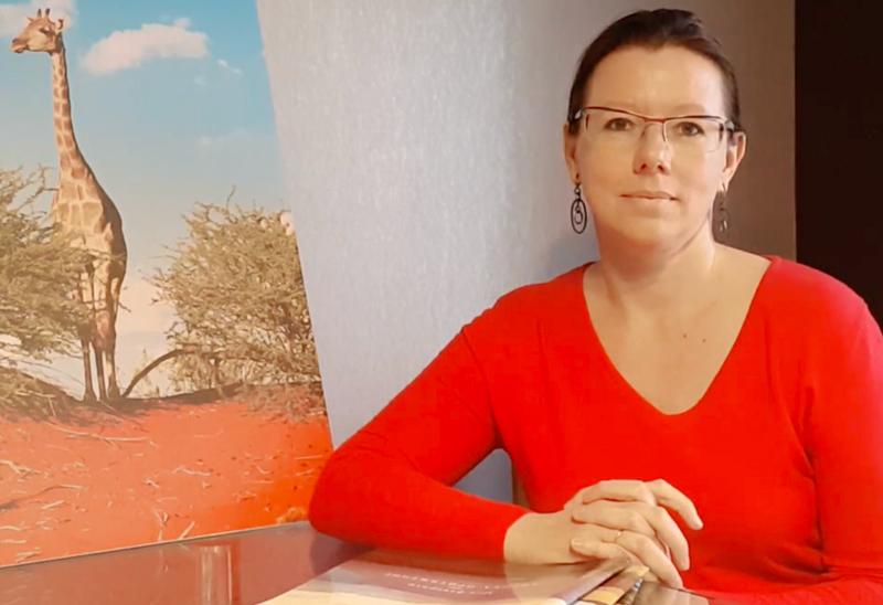 Dr. Nataliya Polonskaya – screen from YouTube channel