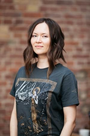 Art print t-shirt, organic cotton, Arctus Clothing
