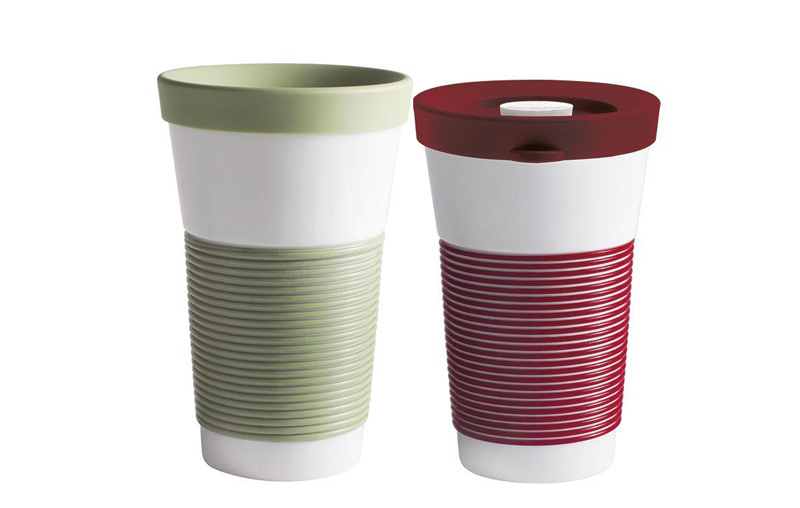 Kahla cup it: new colours green and red, and new, leak-proof lid added to the range