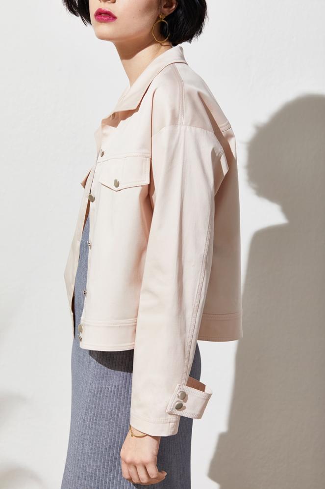 Summer 2018: dress and jacket, Lana Organic