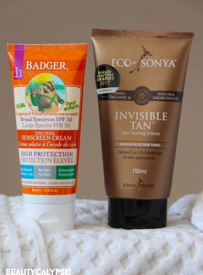 Badger Balm Broad Spectrum SPF 30, Eco by Sonya Invisible Tan