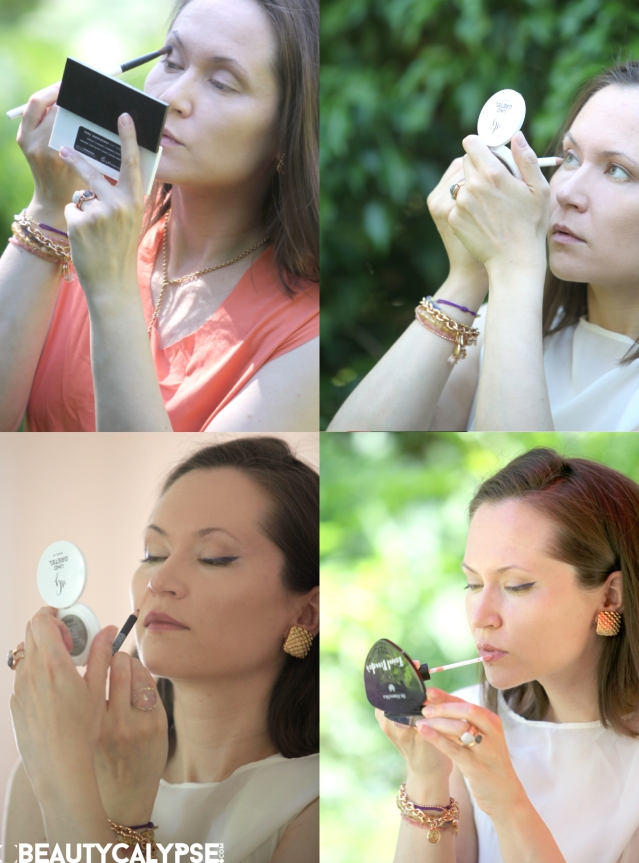 Summer beauty look: get the look using organic and natural beauty products only!