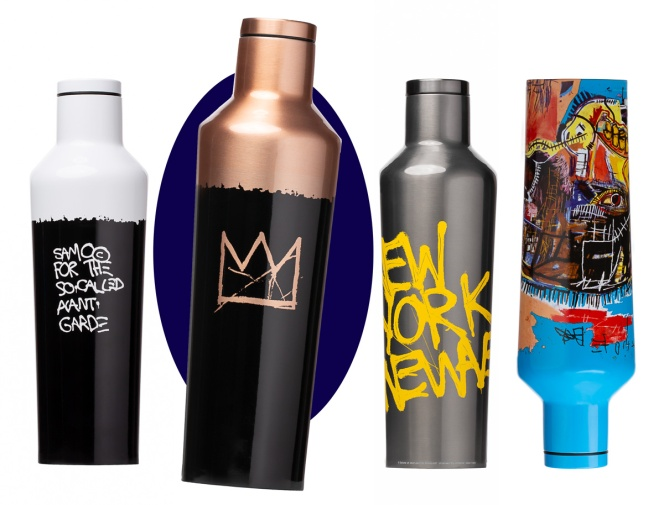 Corkcicle Jean-Michel Basquiat Limited Edition