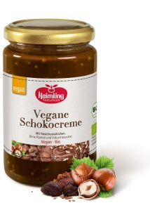 Keimling vegan haselnut and chocolate spread — no palm oil, no dairy, no industrial sugar