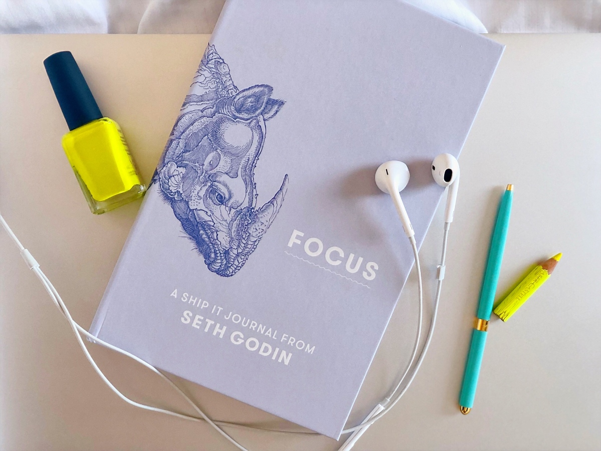 Bookshelf Monthly: FOCUS, A Journal To Help You Conquer The World (Well, That's Optional)